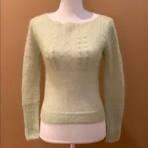Ralph Lauren RL Light Green Sweater Juniors Small